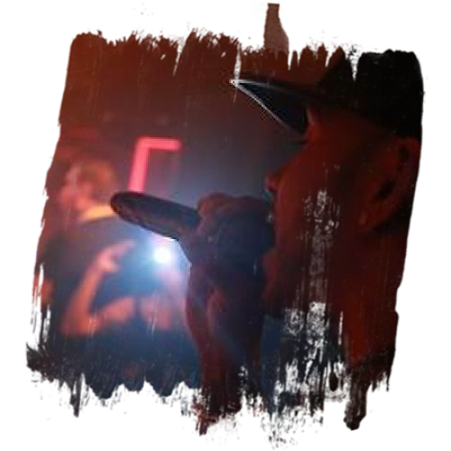 Lewis Hamilton on the mic Live in Tape Night Club